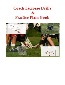 The Coach Lacrosse Drills & Practice Plans Book contains great Lacrosse Drills and Effective Practice Plans!